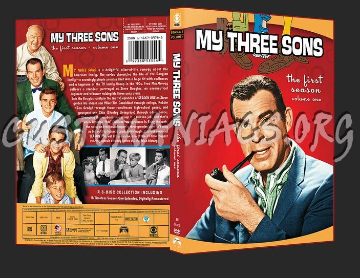 My Three 3 Sons Season 1 Volume 1 dvd cover