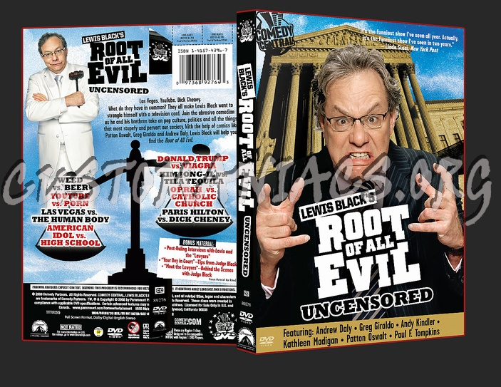 Root of all Evil dvd cover