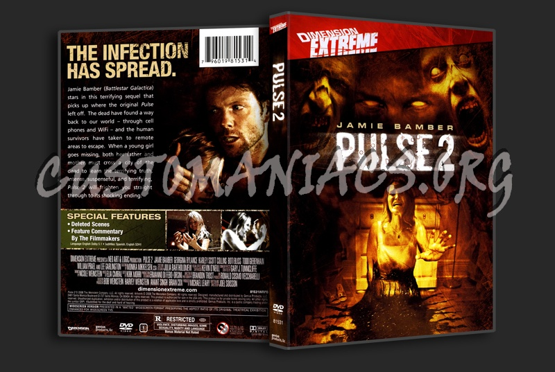 Pulse 2: Afterlife dvd cover