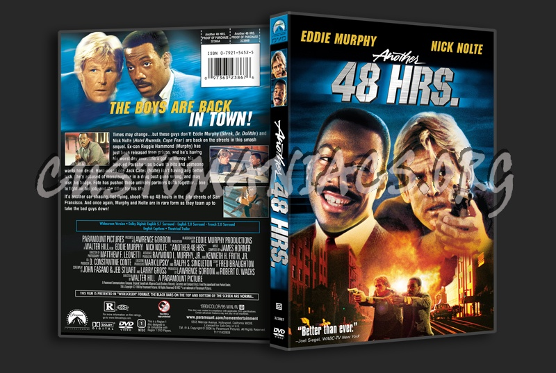 Another 48 Hrs. dvd cover