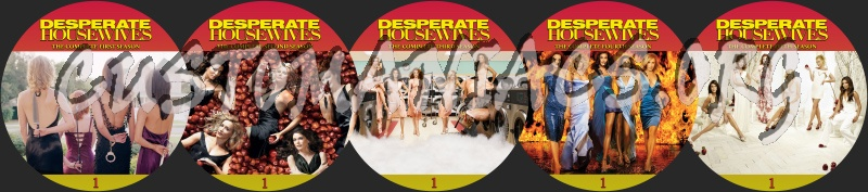 Desperate Housewives dvd label