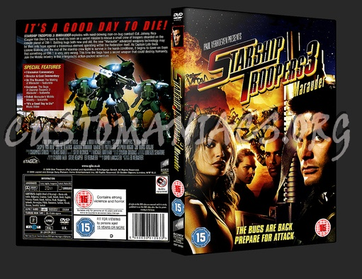 Starship Troopers 3 dvd cover