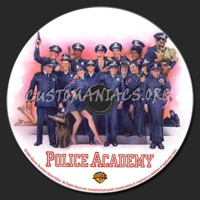 Police Academy dvd label
