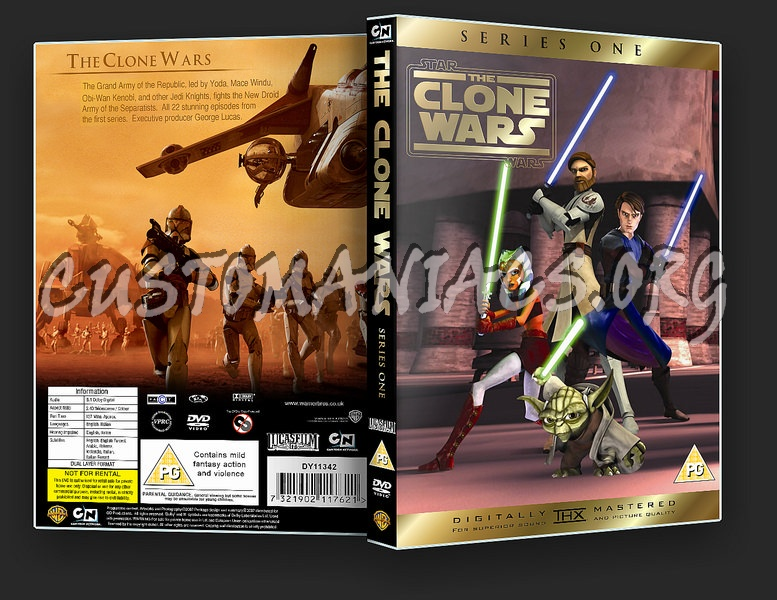 Star Wars: The Clone Wars Series One dvd cover
