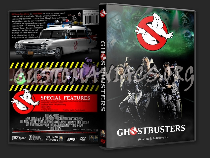 Ghostbusters dvd cover