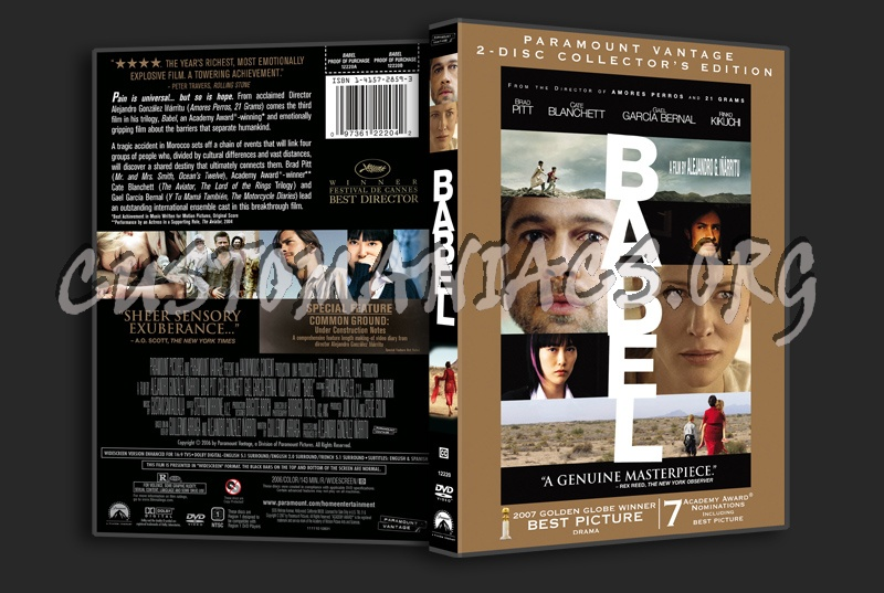 Babel dvd cover