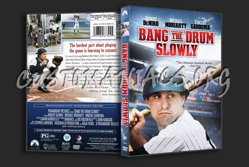 Bang the Drum Slowly dvd cover