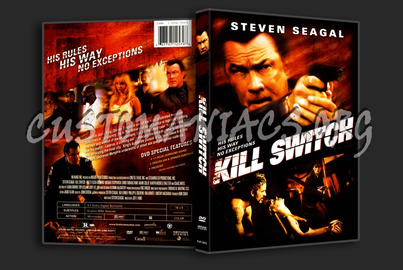 Kill Switch dvd cover