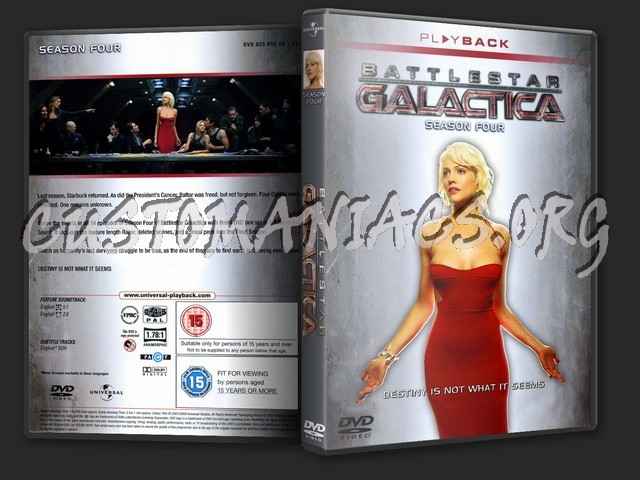 Battlestar Galactica Season 4 dvd cover