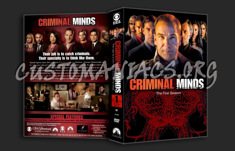 Criminal Minds Season 1 dvd cover