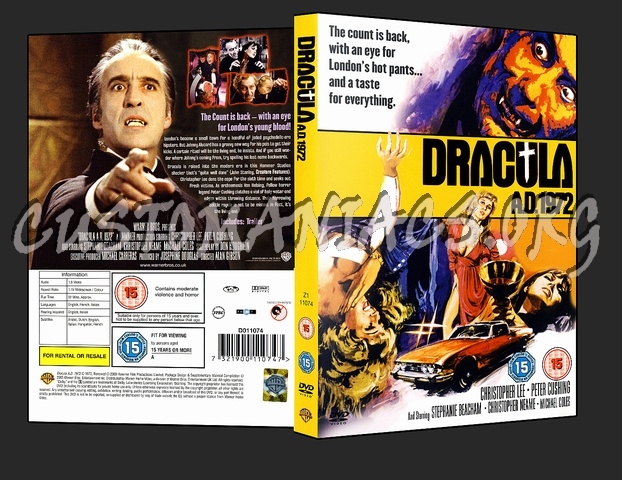 Dracula AD 1972 dvd cover