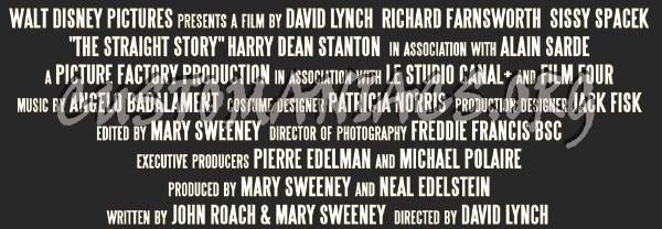 Straight Story-David Lynch