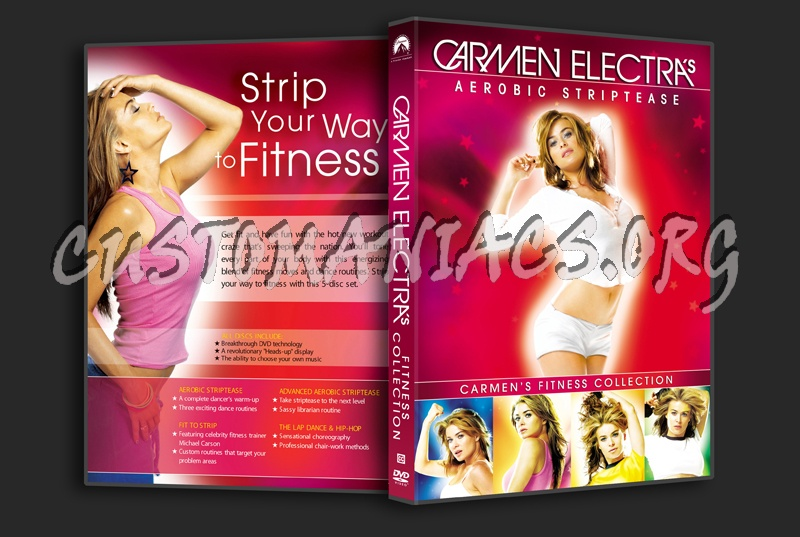 Carmen Electra's Fitness Collection dvd cover