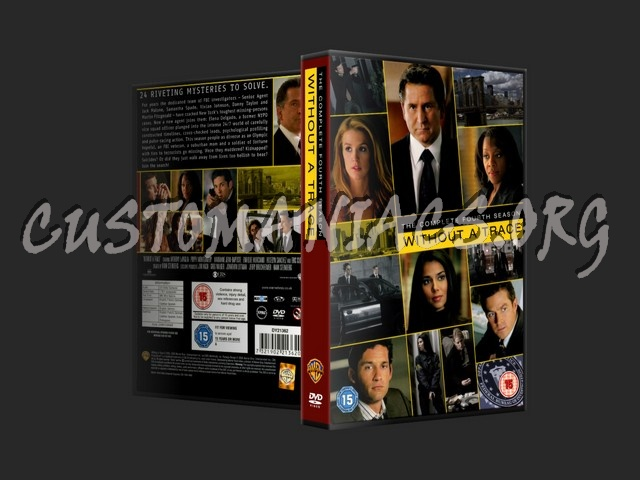 Without a Trace Season 4 dvd cover
