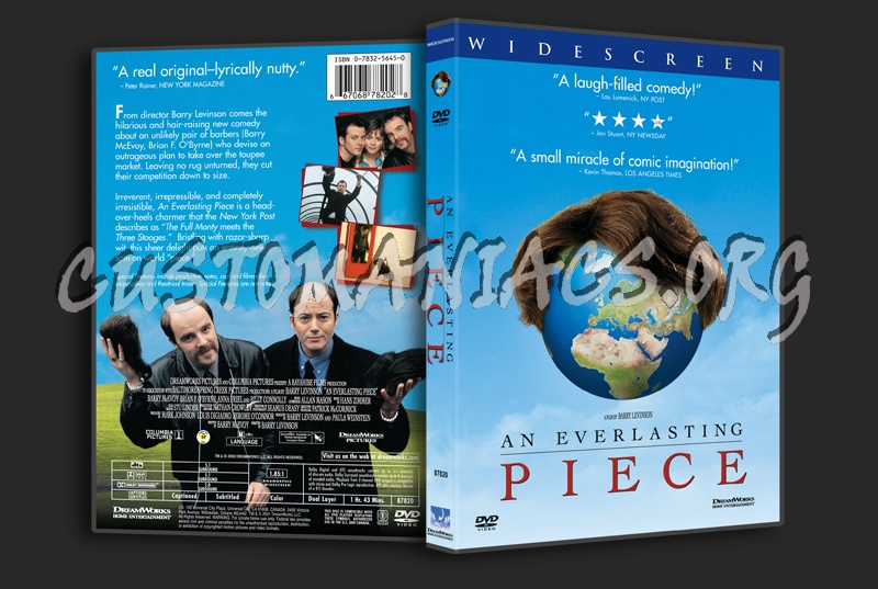 An Everlasting Piece dvd cover