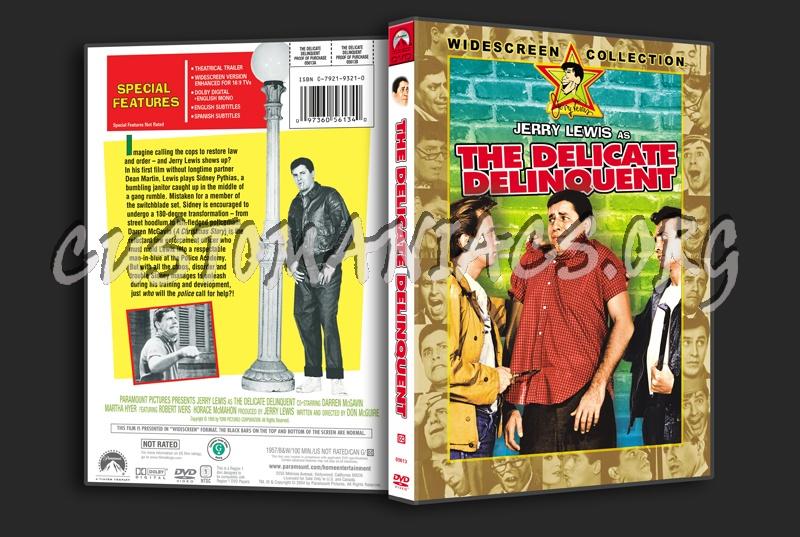 The Delicate Delinquent dvd cover