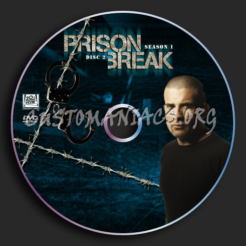Prison Break : Season 1 : Disc 2 dvd label