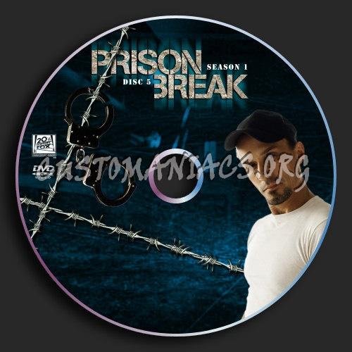 Prison Break : Season 1 : Disc 5 dvd label