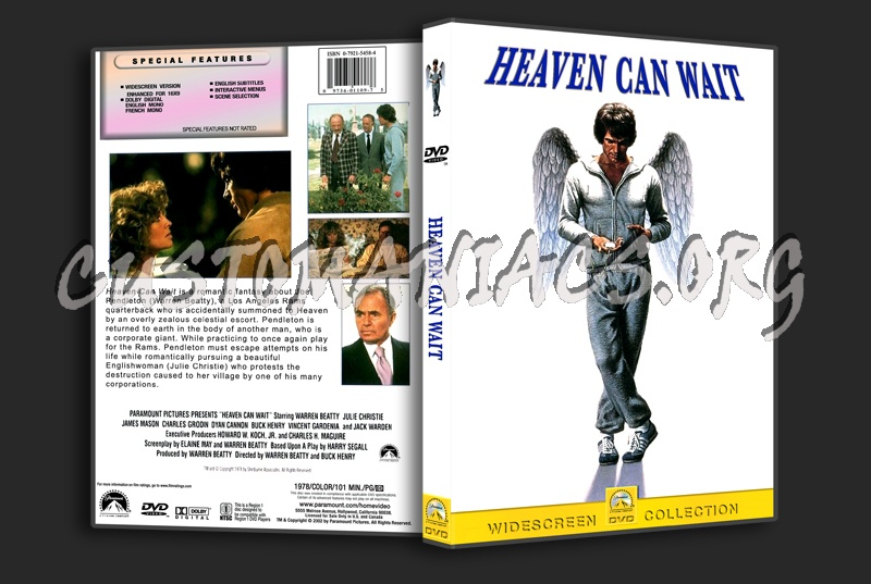 Heaven Can Wait dvd cover