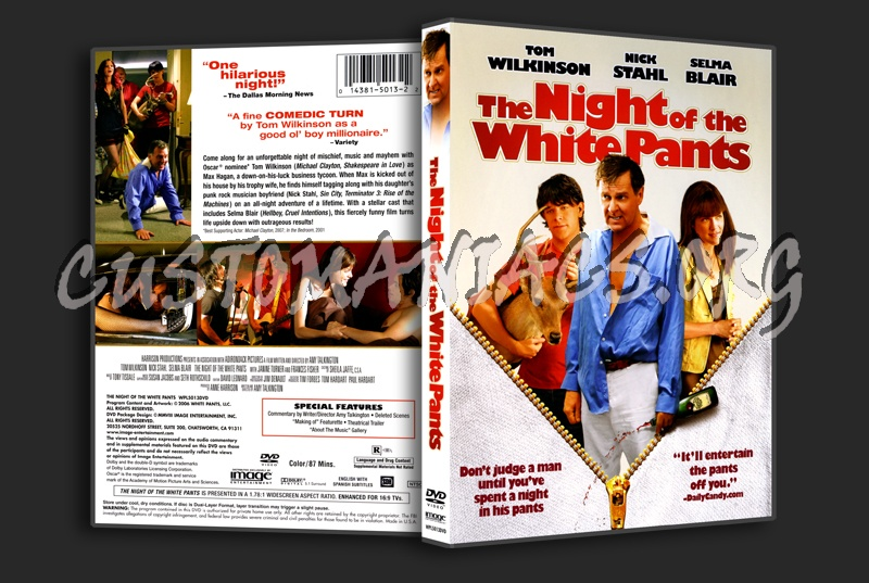 The Night of the White Pants dvd cover