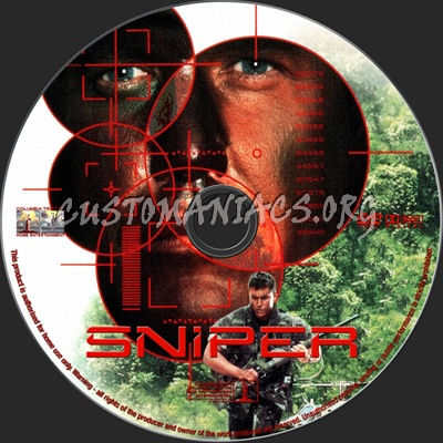 Sniper dvd label