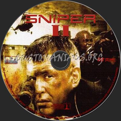 Sniper 2 dvd label