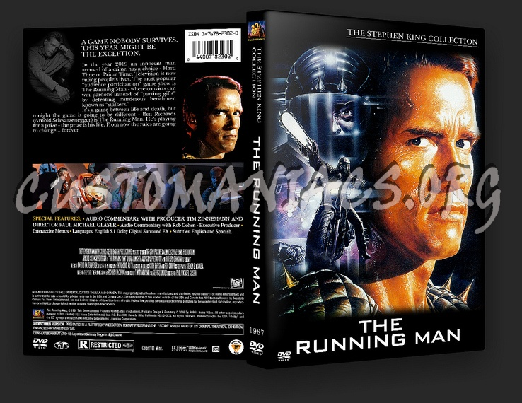 The Running Man dvd cover