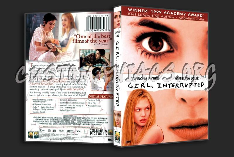 Girl Interrupted dvd cover