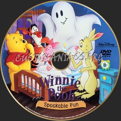Winnie the Pooh Spookable Fun dvd label