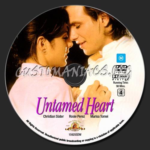 Untamed Heart dvd label