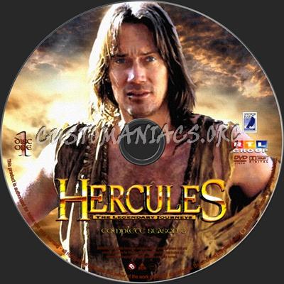 Hercules The Legendary Journeys Season 3 dvd label