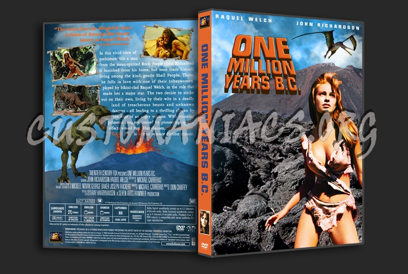 One Million Years BC dvd cover