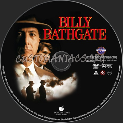 Billy Bathgate dvd label