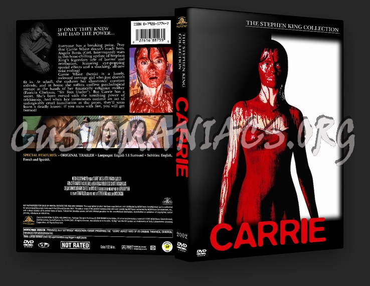 Carrie 2002 dvd cover