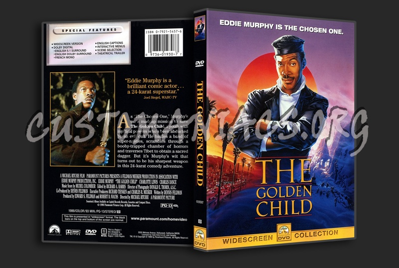 The Golden Child dvd cover