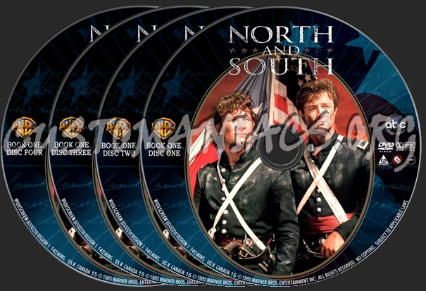 North and South Book 1 dvd label