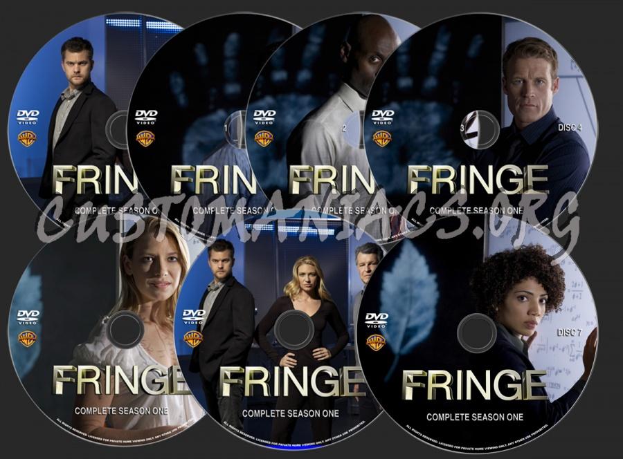 Fringe Season 1 dvd label
