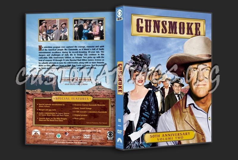 Gunsmoke Volume 2 dvd cover
