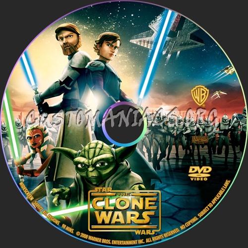 Star Wars The Clone Wars Dvd Cover Star Wars:the Clone Wars Dvd