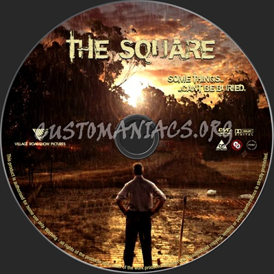 The Square dvd label