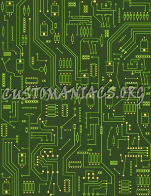 Circuitboard PSD Layered - DVD Covers & Labels by Customaniacs, id ...