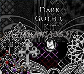 Dark Gothic Kit PSG PNG