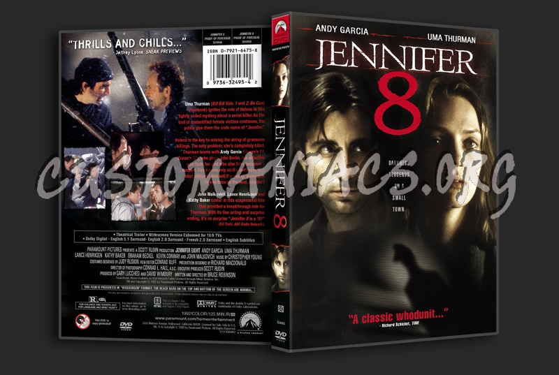 Jennifer 8 dvd cover