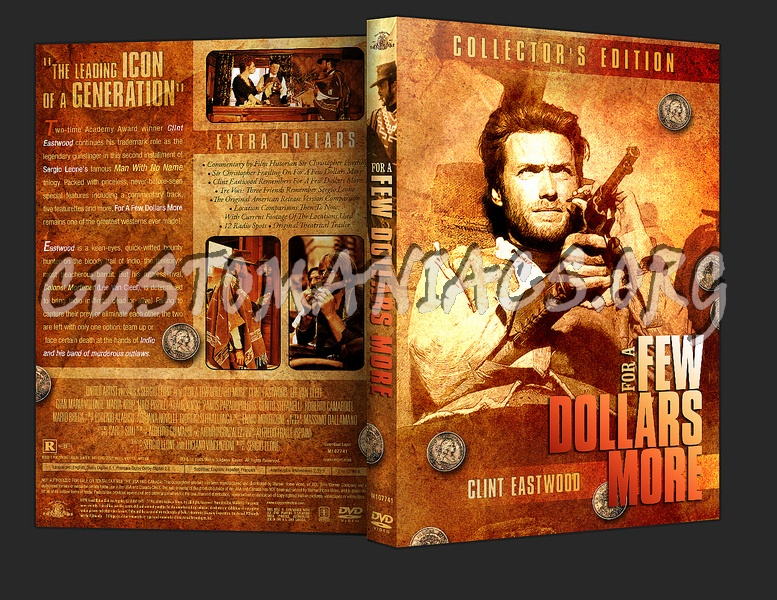 For a Few Dollars More dvd cover