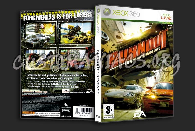 Burnout Revenge dvd cover