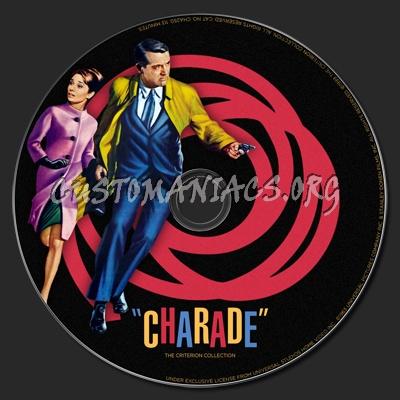 057 - Charade dvd label