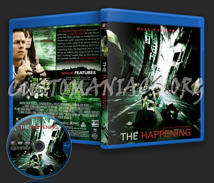The Happening blu-ray cover