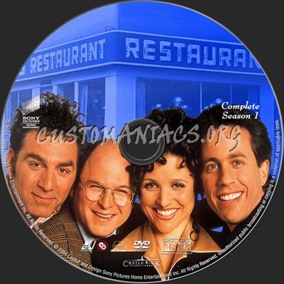 Seinfeld Season 1 dvd label