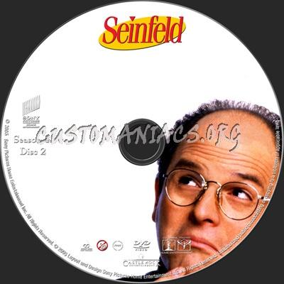 Seinfeld Season 4 dvd label