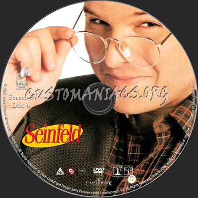 Seinfeld Season 5 dvd label